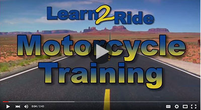 Basic informational video on Learn to Ride, motorcycle training course