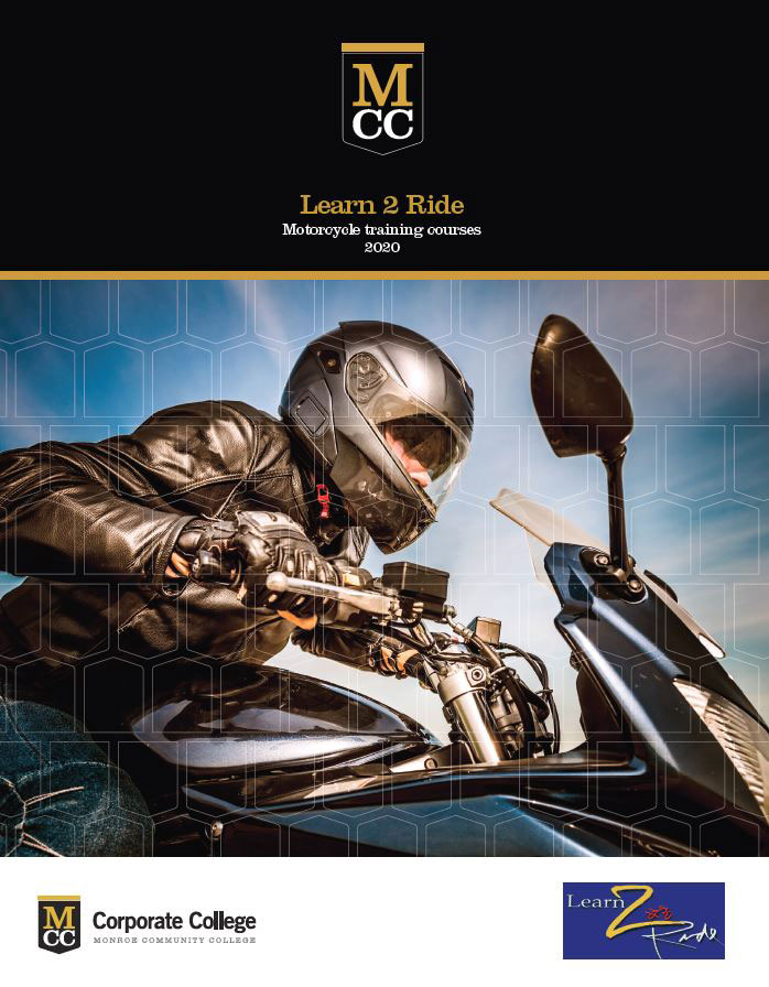 Learn 2 Ride: Motorcycle training courses 2018 Brochure